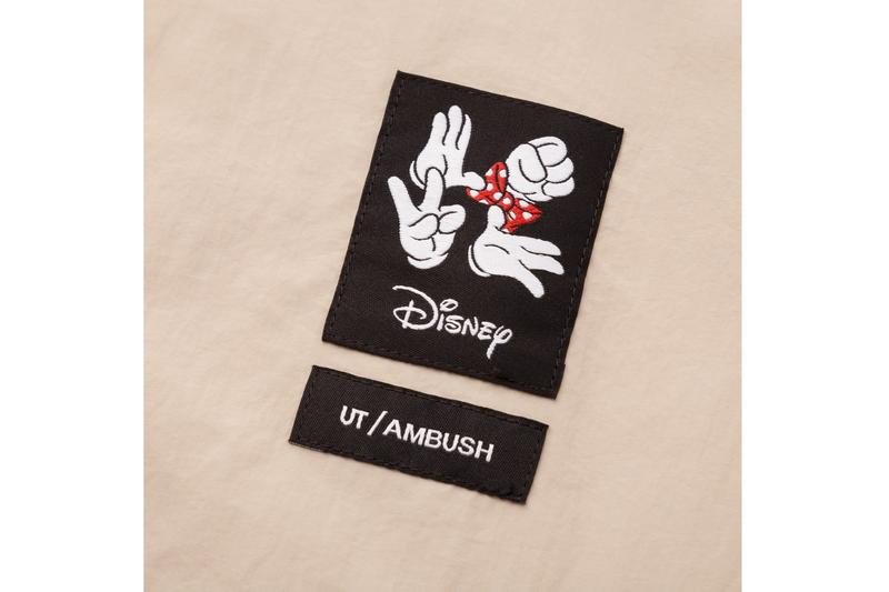 AMBUSH x Disney x UNIQLO UT 最新三方聯名系列正式登場