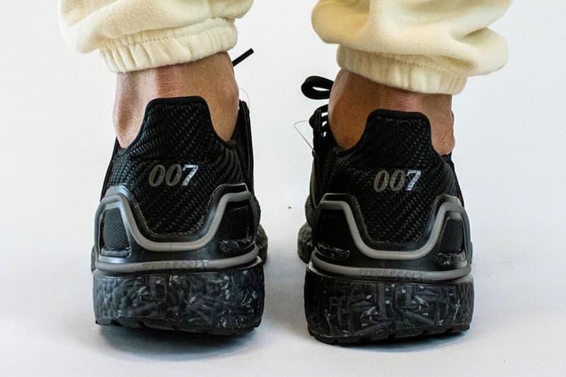 adidas x《007》別注 ultraBOOST 20 網傳清晰上腳圖片曝光