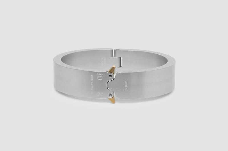 1017 ALYX 9SM 2020 春夏系列手環正式登場