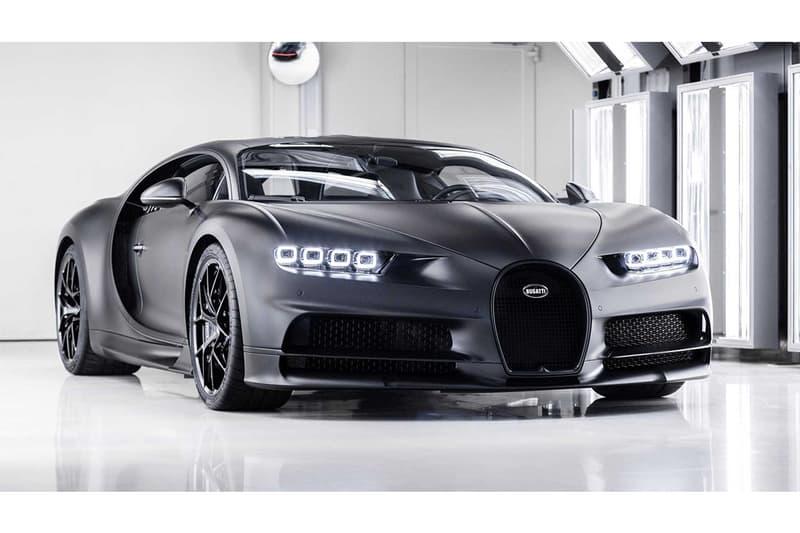近賞 Bugatti 將第 250 台 Chiron 打造成的別注黑魂版本
