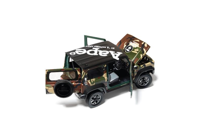 擺設一流-AAPE BY *A BATHING APE® x SUZUKI Jimny 模型車登場
