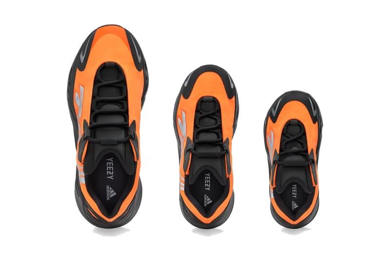 adidas 正式發佈 YEEZY BOOST 700 MNVN 最新配色「Orange」