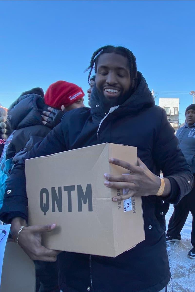 Kanye West 於芝加哥免費送出 YEEZY QNTM 全新籃球鞋款