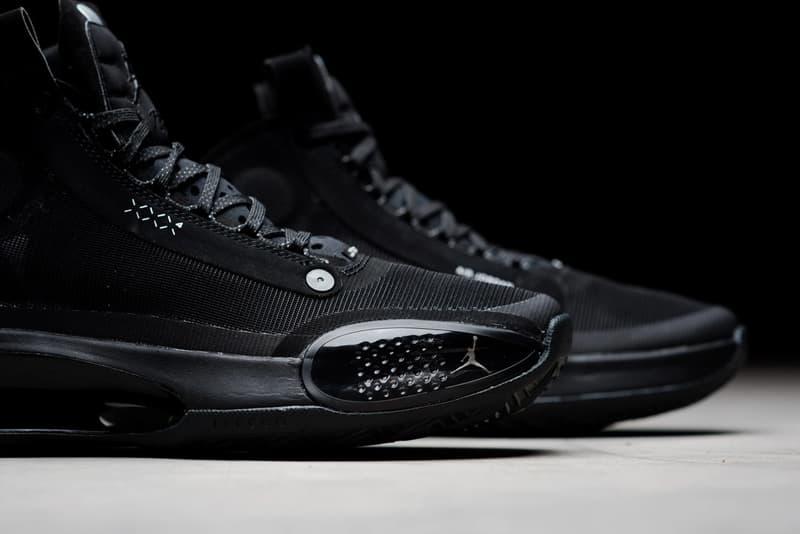 不敗之黑 − Air Jordan 34 全新「Black Cat」配色鞋款正式發佈