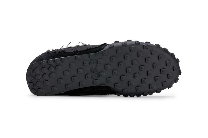BLACK COMME des GARÇONS x Nike Waffle Racer 2 聯乘鞋款官方圖輯