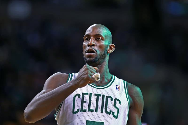 Boston Celtics 宣佈將退休 Kevin Garnett 球衣背號