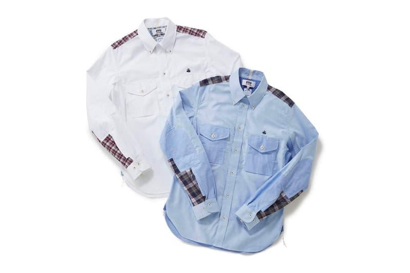 Brooks Brothers x Junya Watanabe MAN 推出聯乘襯衣及西服外套