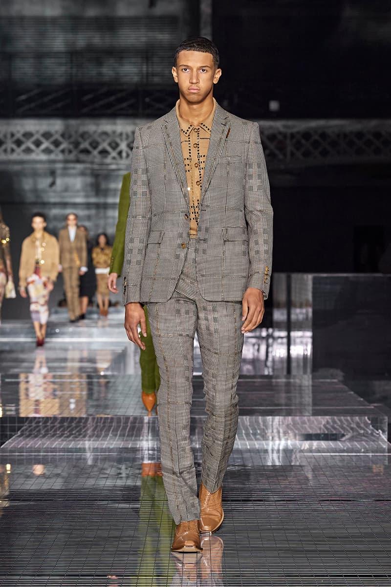 倫敦時裝週 - Burberry 2020 秋冬系列時裝大秀