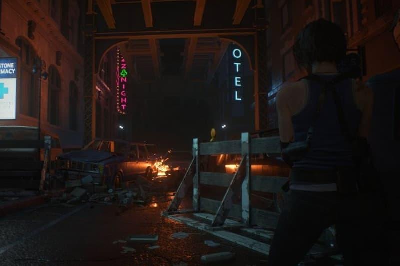《Resident Evil 3》重製版遊戲畫面截圖 & 美術設定圖突襲公開