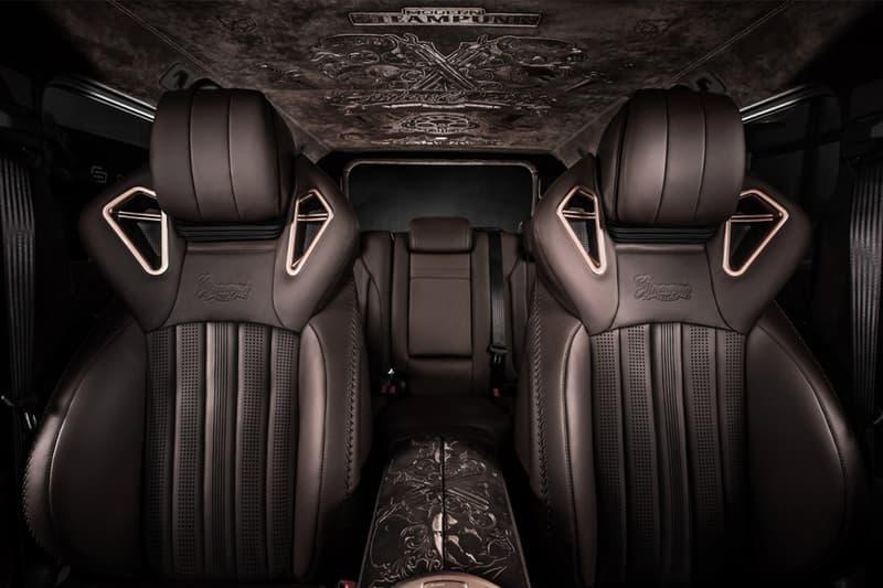 Carlex Design 打造 Mercedes-AMG G63 全新「Steampunk」改裝版本