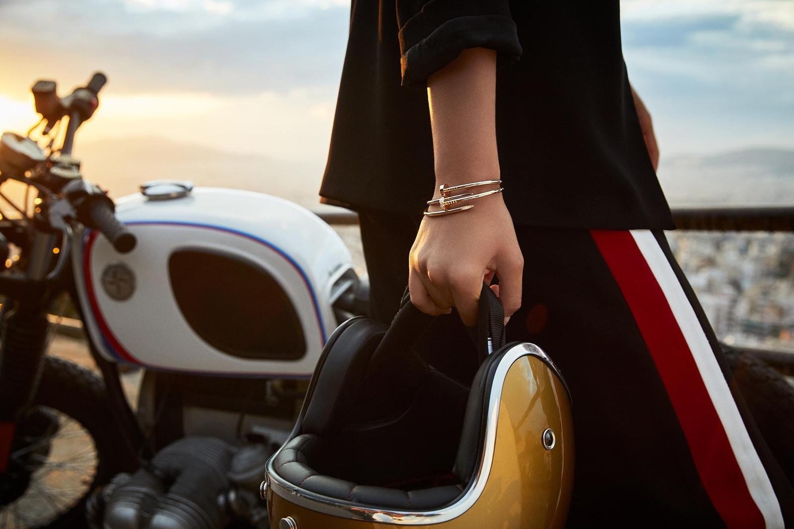 卡地亞網上精品店率先獨家發售 Juste un Clou 系列全新小型款鑽石手鐲