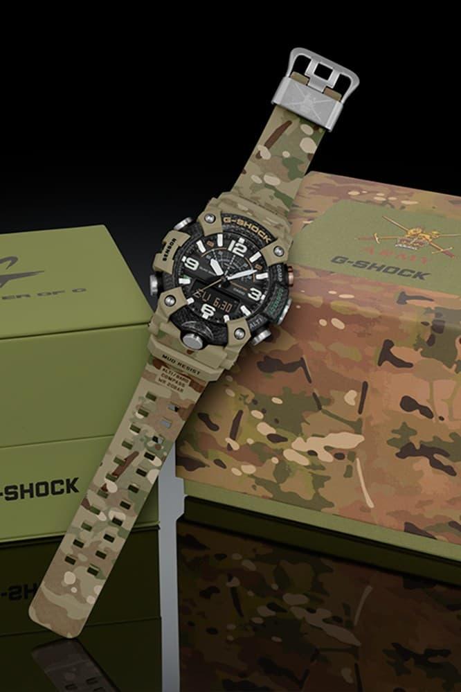 G-SHOCK 攜手英國陸軍打造 Mudmaster 別注腕錶