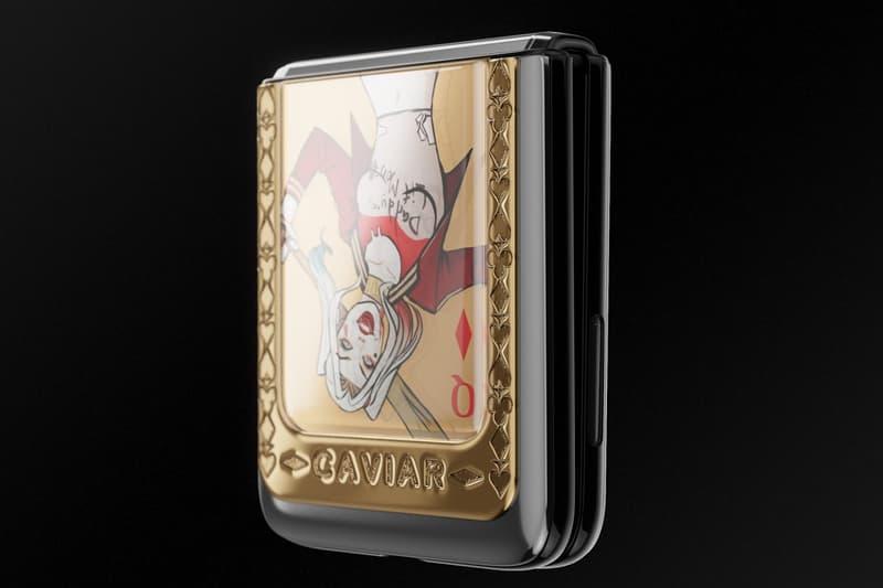 Caviar 推出要價 $5,210 美元別注 Samsung Galaxy Z Flip 概念機