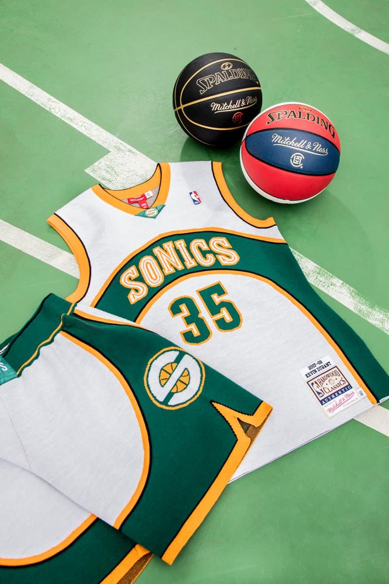 CLOT x Mitchell & Ness 再度聯乘推出全新復古籃球球衣系列