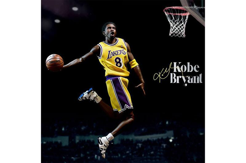 紀念黑曼巴!ENTERBAY 推出「Real Masterpiece」系列 Kobe Bryant 1:6 雙人偶套裝
