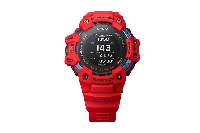 心率監測 − G-SHOCK 推出 GBD-H1000-1A7 全新腕錶