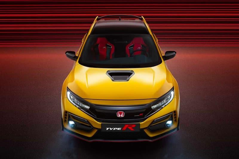 Honda 打造全新 Civic Type R Limited Edition 車型