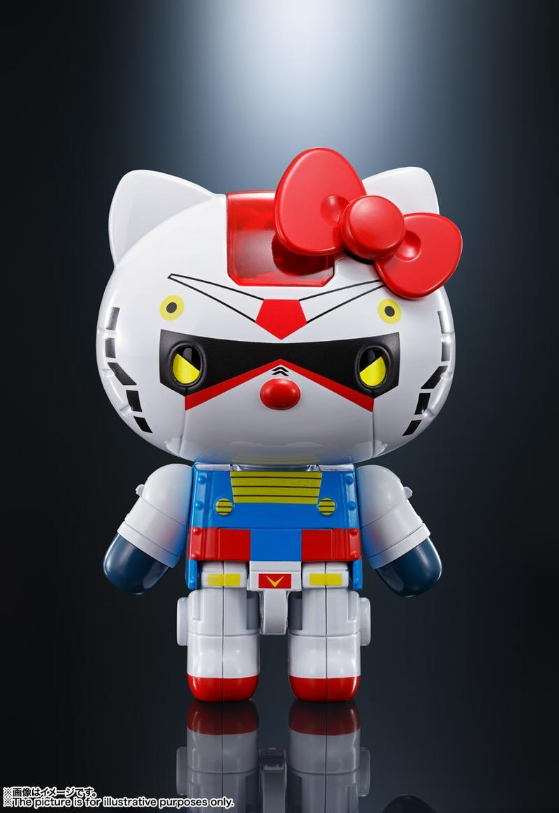 Gundam x Hello Kitty 推出別注超合金玩偶