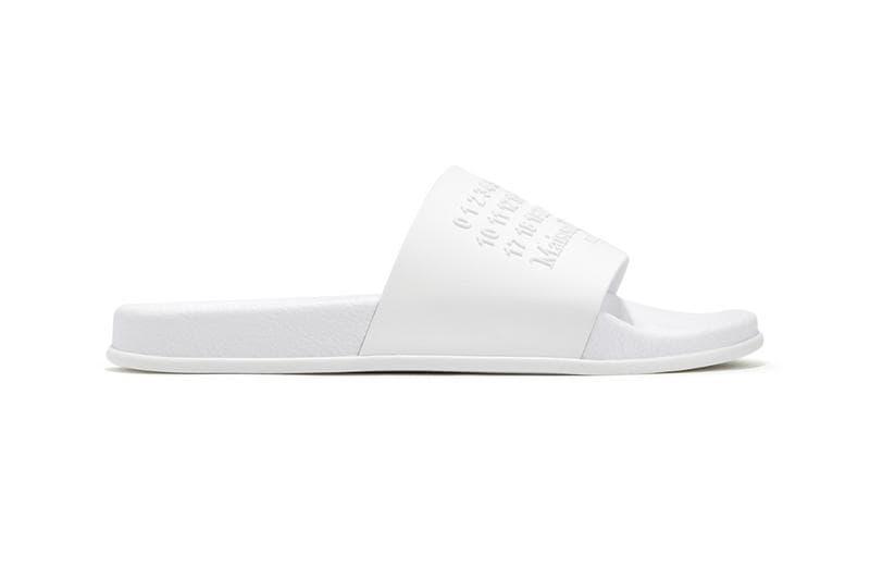 Maison Margiela 將經典元素注入推出拖鞋設計上