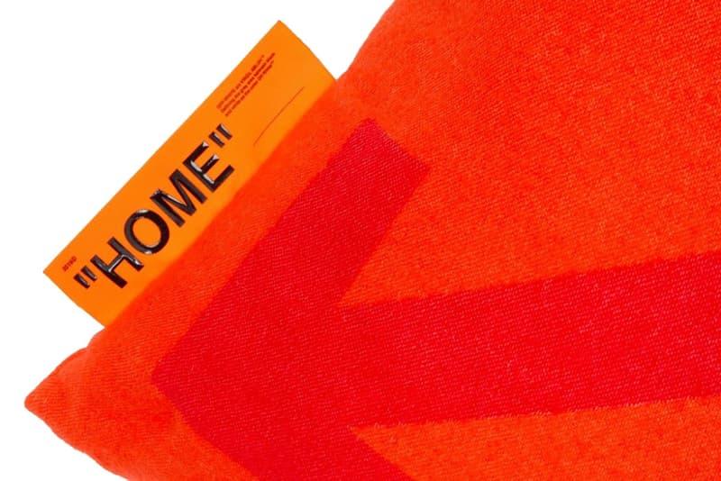 """Off-White™ 家品系列 """"HOME"""" 推出全新抱枕單品"""
