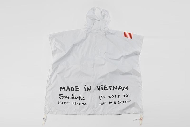 Tom Sachs x NIKECRAFT 變身腰包 Poncho 雨衣全球上架情報公開