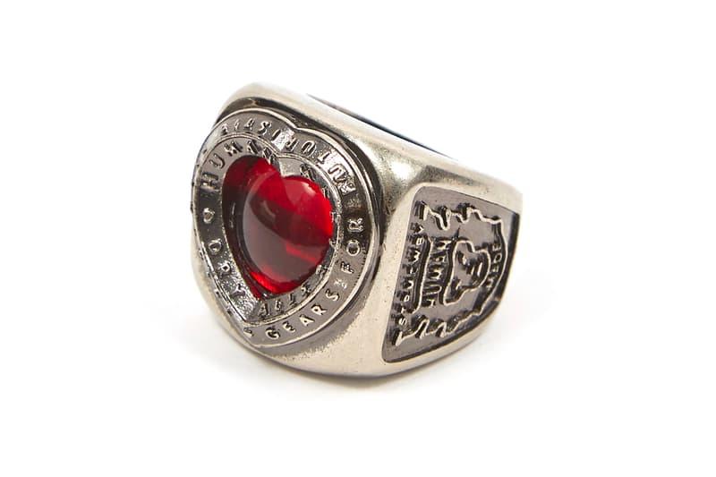 Human Made 推出自家製心形石黃銅指環