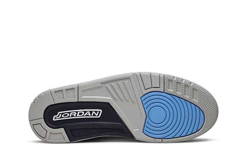 Air Jordan 3 人氣北卡色「UNC」高清圖輯曝光