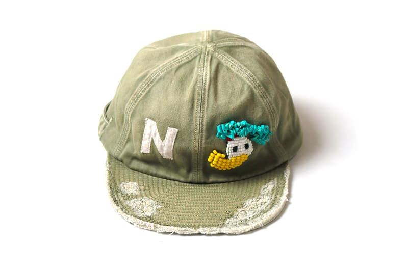 KAPITAL 推出手工製 Katsuragi Kola 棒球帽款