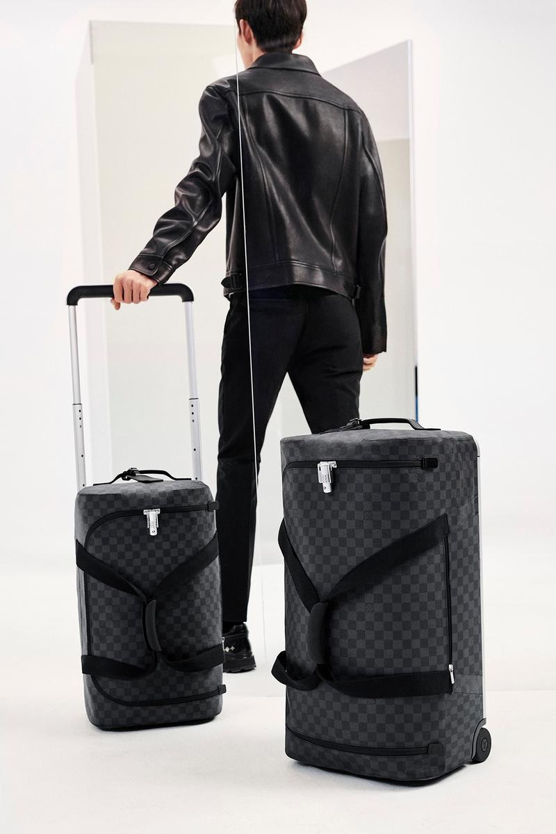 Louis Vuitton x Marc Newson 行李箱系列 Horizon Soft 全新配色登場