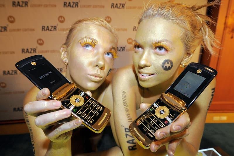Motorola 全新 RAZR 摺疊式智能手機或將推出黃金配色版本