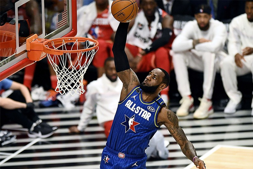 真刀真槍 − NBA 2020 全明星賽由 Team LeBron 擊敗 Team Giannis 獲勝