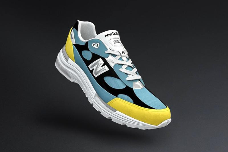 New Balance 宣佈開放旗下熱門型號 992 個人鞋款定製服務