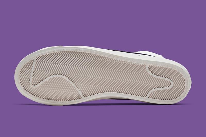 Nike Blazer Mid '77 Vintage 最新配色「White/Voltage Purple」發佈