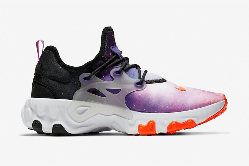 Nike 混種鞋款 React Presto 推出「Galaxy」銀河配色