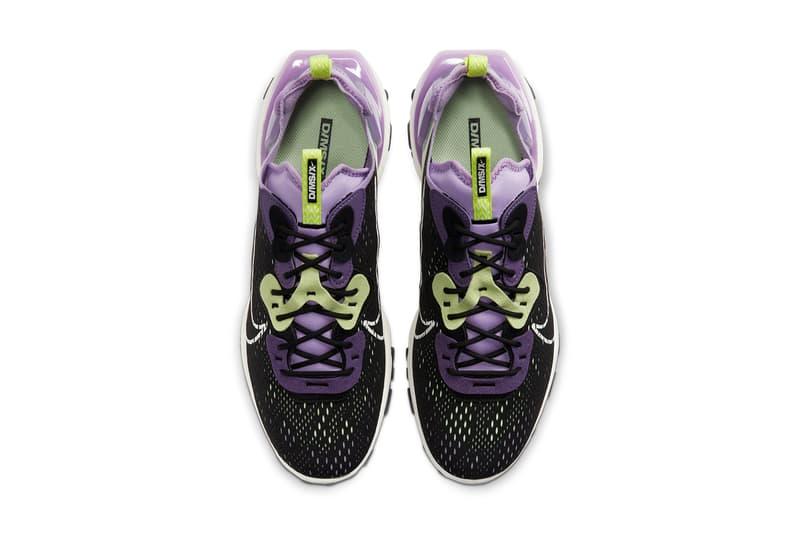 Nike React Vision 全新配色「Gravity Purple」、「HONEYCOMB」正式發佈