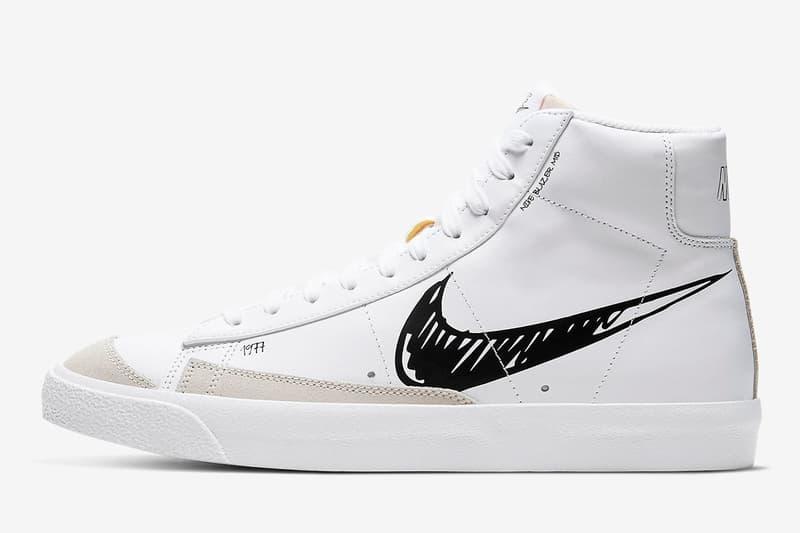 Nike 發佈手繪 Swoosh Logo「Sketch Pack」鞋款系列