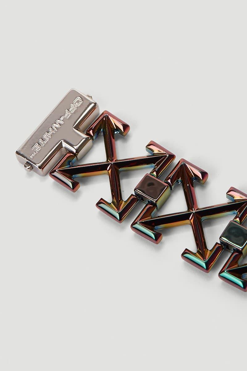 Off-White™ 推出全新虹彩箭頭樣式手鍊