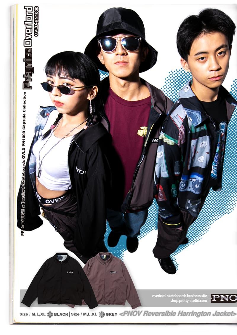 PRETTYNICE xOverlord Skateboards全新聯名 Lookbook 發布