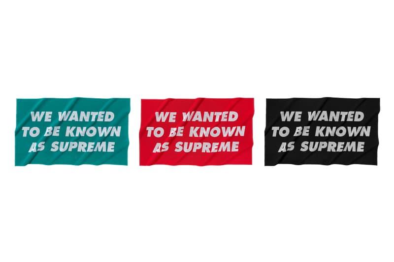 Supreme 正式發佈 2020 春夏配件系列