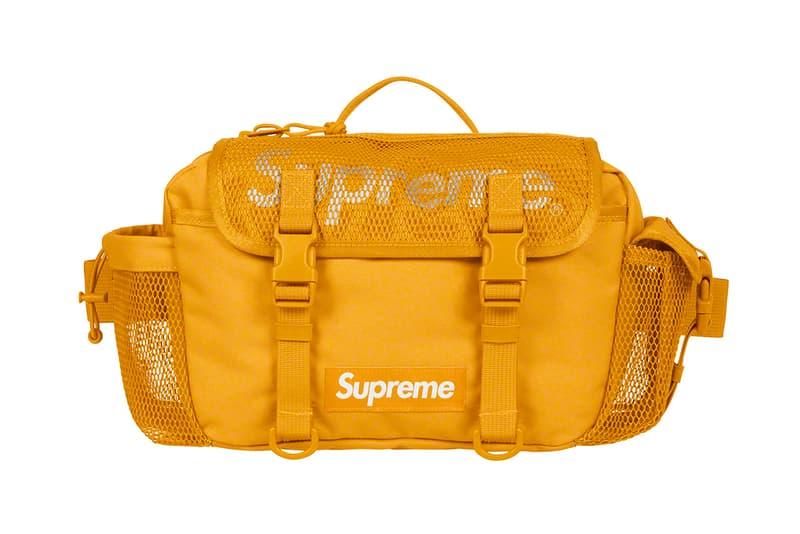 Supreme 正式發佈 2020 春夏包款系列