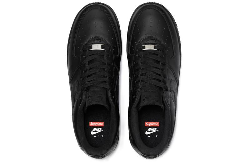 Supreme x Nike Air Force 1 Low 2020 春夏聯名官方圖輯正式發佈