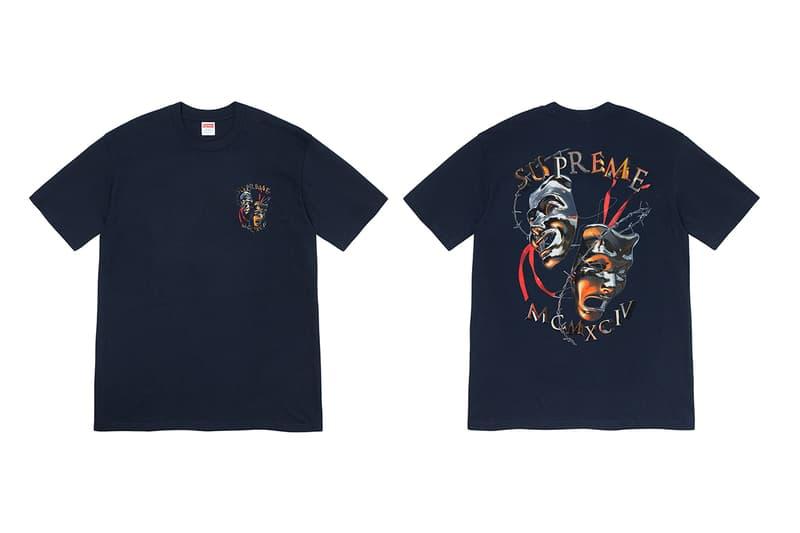 Supreme 正式發佈 2020 春夏 T-Shirt 系列