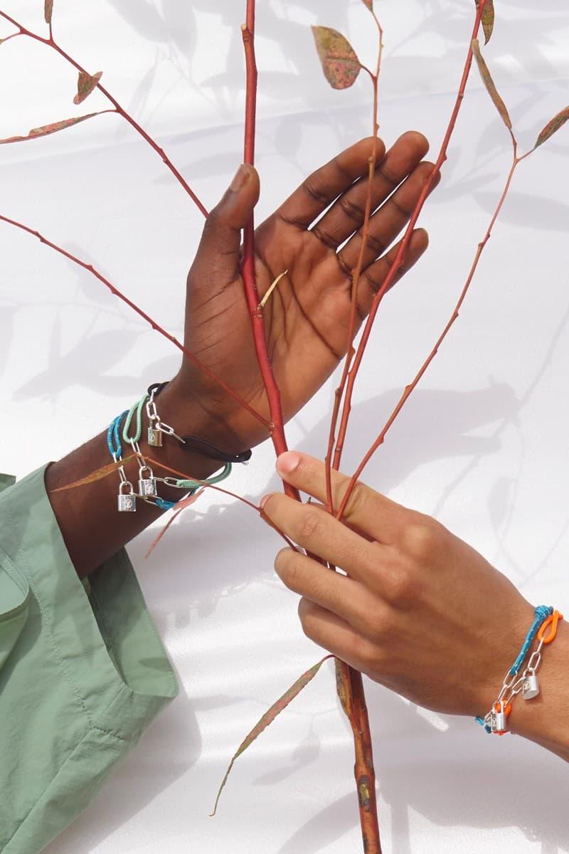 Virgil Abloh 打造 UNICEF x Louis Vuitton 最新聯名 Silver Lockit 彩色手鍊