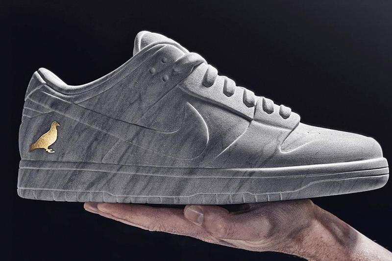 Jeff Staple 發表 Nike SB Dunk「Pigeon」雲石雕塑作品