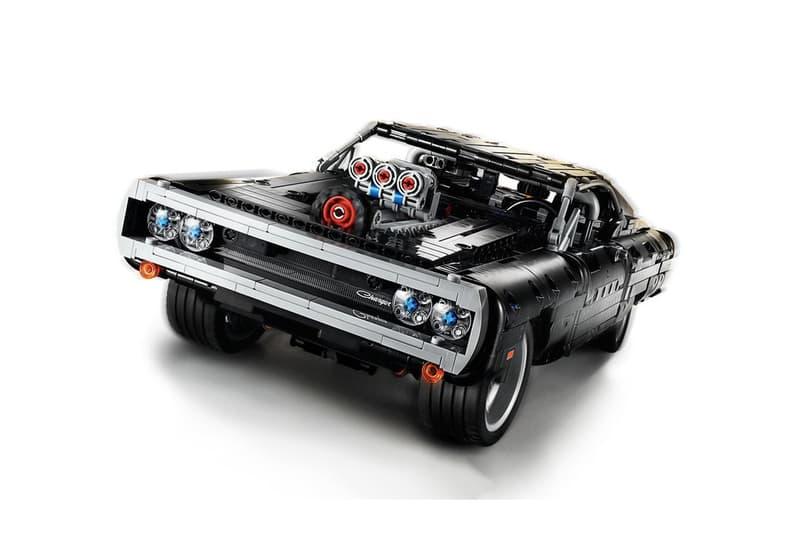 LEGO Technic 高度還原《Fast & Furious》中唐老大的 Dodge Charger