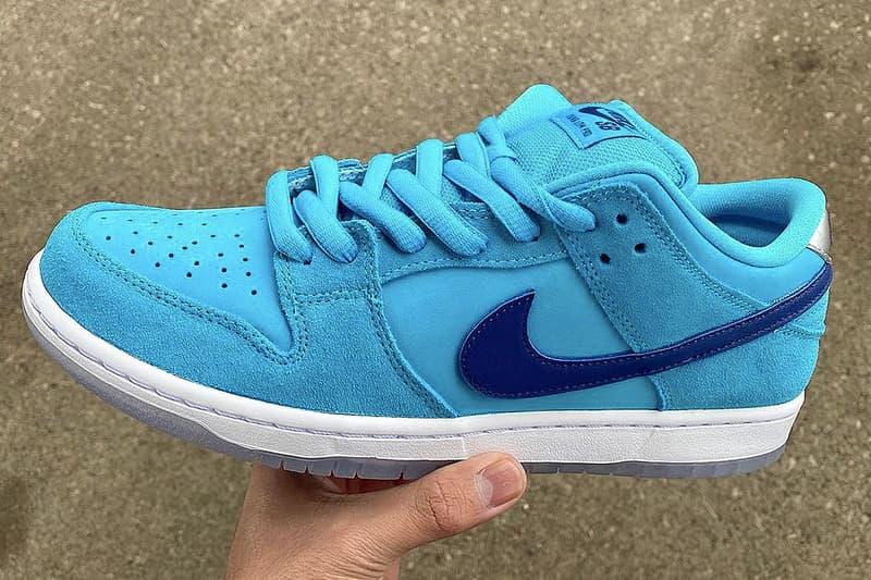 Nike SB 全新 Dunk Low「Blue Fury」圖片曝光