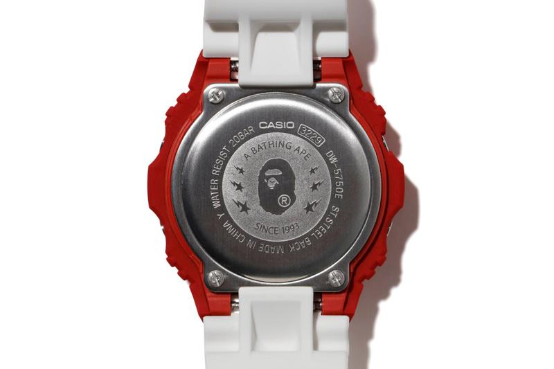 A BATHING APE® x G-SHOCK 最新聯乘 DW-5750 腕錶發佈
