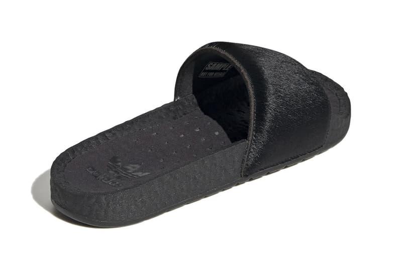 adidas 為經典拖鞋 Adilette Slides 推出馬毛及蛇皮別注款式