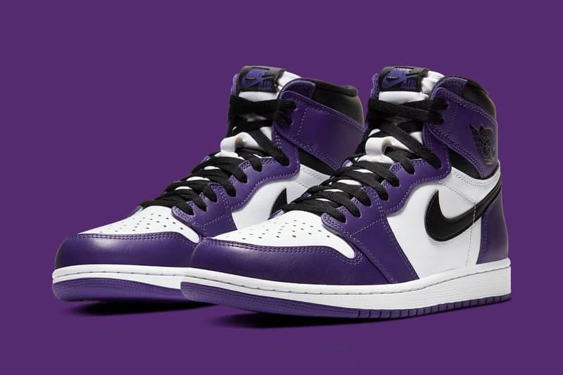 Air Jordan 1 Retro High OG 最新配色「Court Purple」官方圖輯曝光
