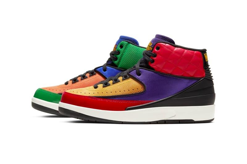 拼接愛 - Air Jordan 2 全新配色「Multi-Color」正式發佈